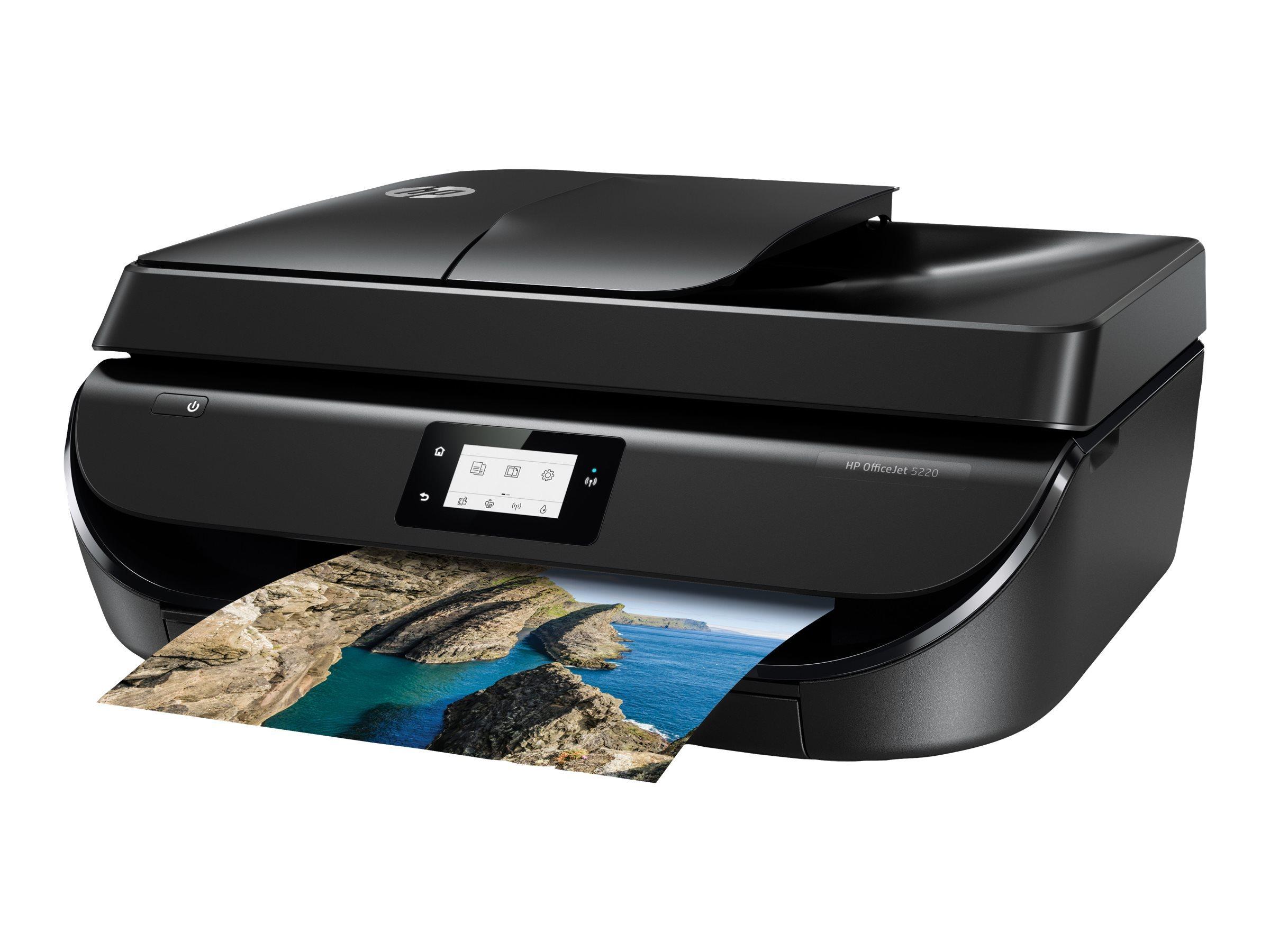 HP Imprimante multifonctions OfficeJet 5220 - M2U81B - Noir