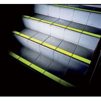 Rocol - Adhesif Antiderapant Safe Step - Coloris : Jaune fluo / Larg. mm : 50