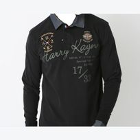 Harry Kayn - polo Homme Cazba- noir