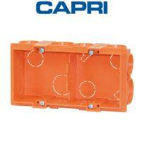 Capri - Capribox Carrée Double Entraxe 57 A sceller
