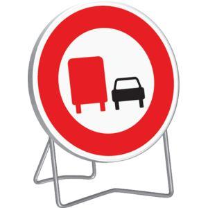 sofop taliaplast panneau interdiction aux poids lourds de doubler b3a 850 mm classe t1 pied. Black Bedroom Furniture Sets. Home Design Ideas