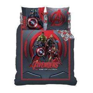 avengers housse de couette 220x240 et 2 taies d 39 oreiller. Black Bedroom Furniture Sets. Home Design Ideas