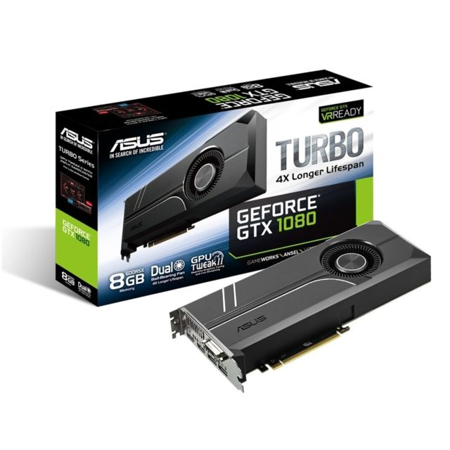 ASUS GeForce GTX TURBO 1080 8Go DDR5