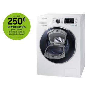 samsung lave linge s chant wd70k5410ow ef blanc achat lave linge hublot a. Black Bedroom Furniture Sets. Home Design Ideas