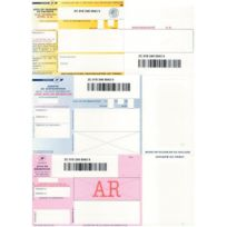 - Boîte de 1000 imprimé recommandés avec accusé de réception et code barre