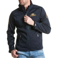LEGENDERS - Veste zippée bleu navy sport