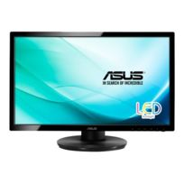 Asus - Ve228TL - Écran Led - 21.5'' - 1920 x 1080 Full Hd - 250 cd m² - 5 ms - Dvi-d, Vga - haut-parleurs - noir