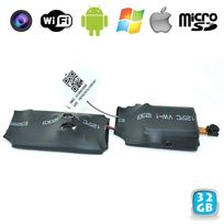 Yonis - Caméra miniature Wifi Point to Point surveillance Android iPhone 32 Go