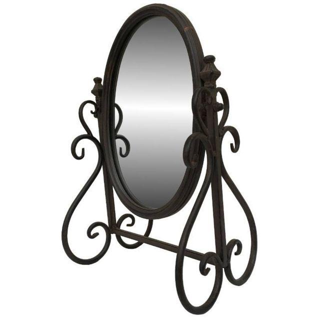 Songma miroir psych rectangulaire vendu par rueducommerce for Miroir a poser par terre