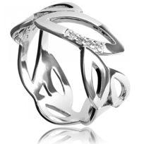 Hot Diamonds - Bague Argent Fantaisie