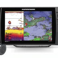 Humminbird - Helix 12 Gps G2-HD avec sonde traversante plastique affleurante