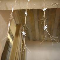 Blachère illumination - Guirlande rideau étoiles et fibre optique