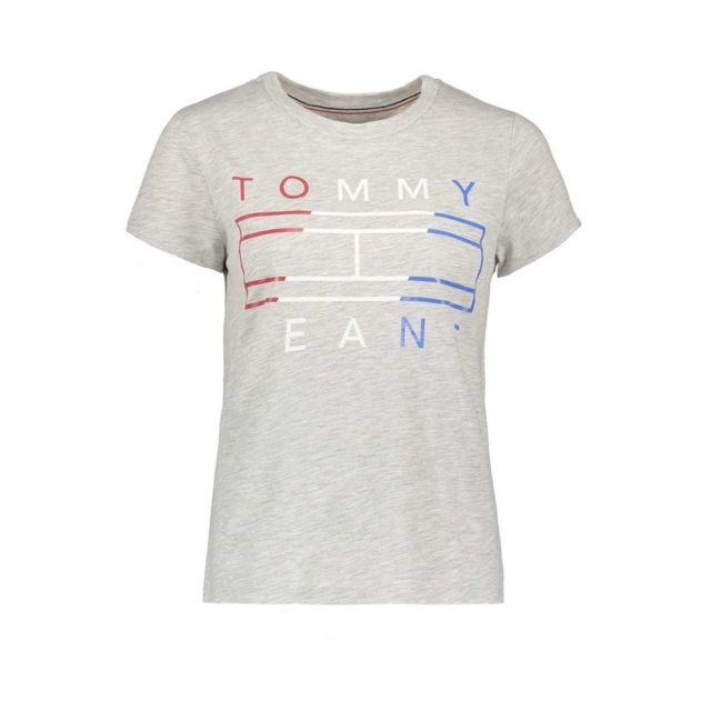 Tommy Hilfiger Femmes Col Rond T-shirt tjw Slim Jersey Crew Neck XXS-XXXL
