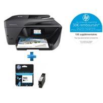 HP - office jet pro 6974 multifonction couleurs 3 en 1 wifi + Cartouche d'encre 903 Noir