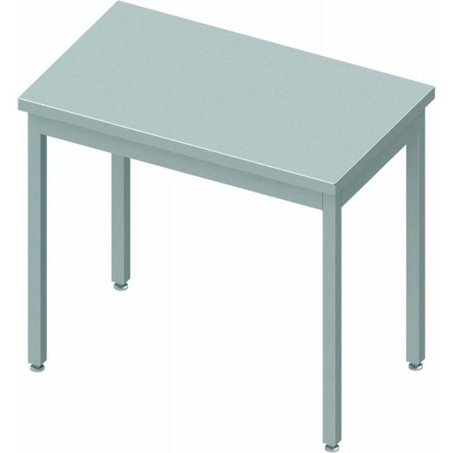Materiel Chr Pro Table Inox Centrale - Profondeur 800 - Stalgast - inox 400x800 800 à monter