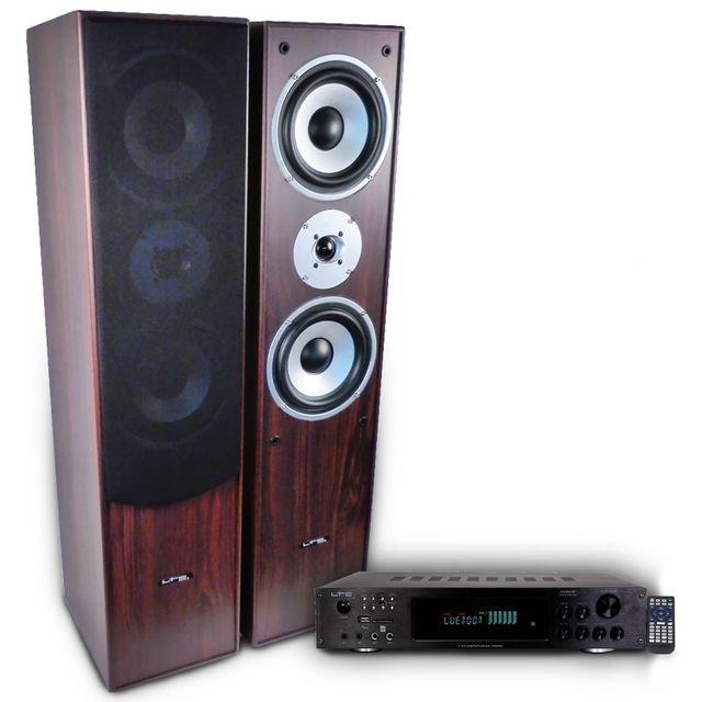 Ltc Pack Hifi / Home-Cinéma L766-WH amplificateur 2 x 50W Atm6000BT