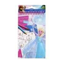 Taldec - Carnet Portfolio A5 La Reine des Neiges Frozen