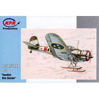 Mpm - Maquette Asja/SAAB B-5 Swedish Dive Bomber