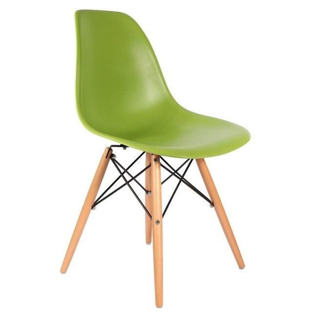 Wewoo Chaise pliante en bois avec accoudoirs plastique pour enfants vert