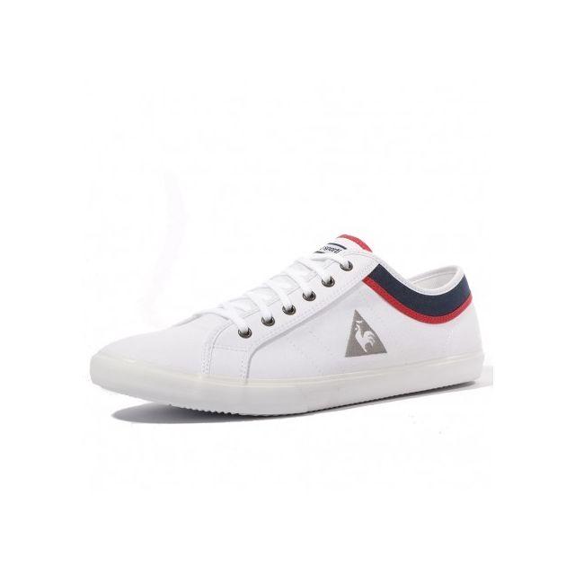 0520bc2588e Le Coq Sportif - Saint Ferdinand Homme Chaussures Blanc Multicouleur ...