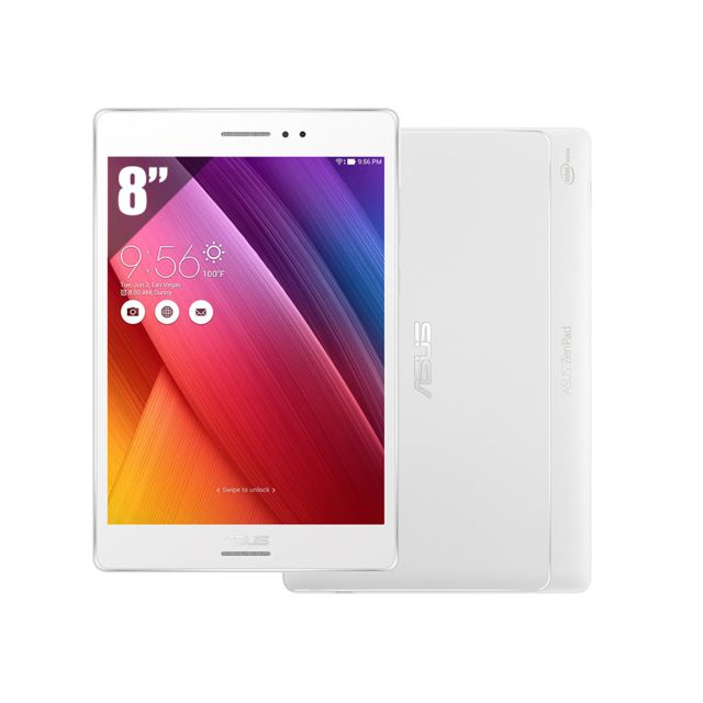 asus zenpad z580ca 8 39 39 ips 64 go wifi blanc pas cher achat vente tablette android. Black Bedroom Furniture Sets. Home Design Ideas
