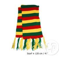 23fde62b7195 Coolminiprix - Lot de 6 - Écharpe de clown rouge jaune vert 1m20 - Qualité