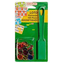 Kim Play - Kit loto : ramasse jetons et 100 pions