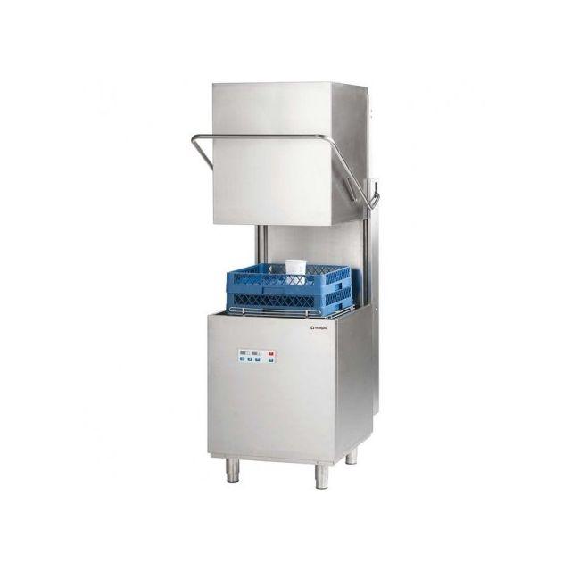 Materiel Chr Pro Lave-vaisselle à capot avec pompe de vidange 500 x 500 - Stalgast
