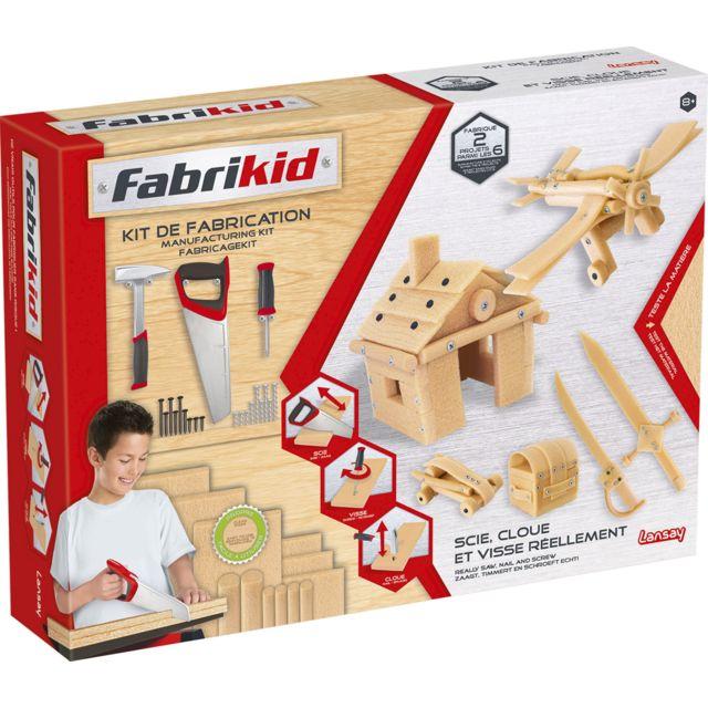LANSAY FABRIKID KIT DE CONSTRUCTION - 15102