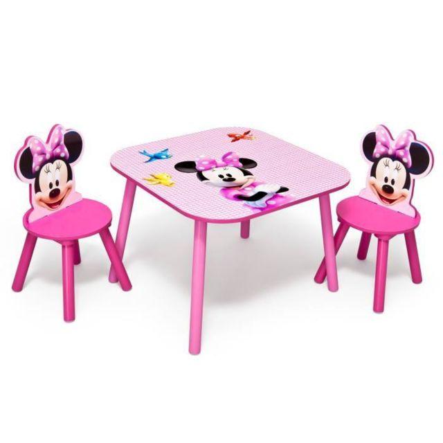 Delta Children Table Et Chaises Minnie Mouse Disney Pas Cher