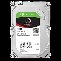 "SEAGATE - Disque dur interne IronWolf 1 To 3.5"" 7200 RPM 64 Mo Serial ATA 6 Gb/s pour NAS"