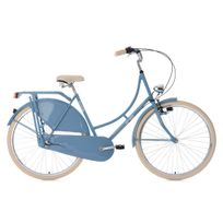 KS CYCLING - Vélo hollandais 28'' Tussaud 3 vitesses bleu TC 54 cm