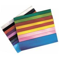 Maildor - papier crepon ordinaire 200x50 jaune or - paquet de 10