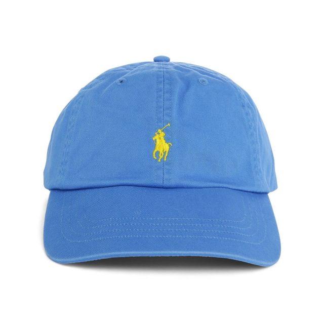 3c2d5d16db5657 Ralph Lauren - Casquette bleu ciel - pas cher Achat   Vente ...