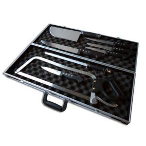 fischer malette de 8 couteaux professionnels pour bouchers bargoin manche abs pas cher achat. Black Bedroom Furniture Sets. Home Design Ideas
