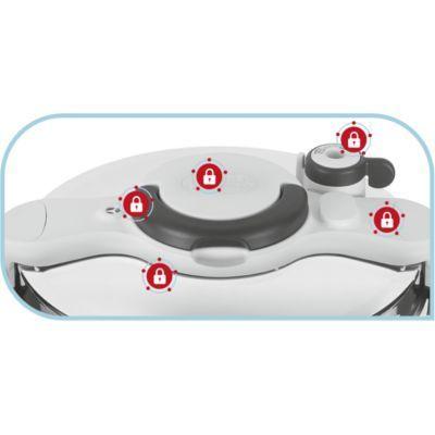 SEB - Autocuiseur Clipso Minut' Easy 4.5L