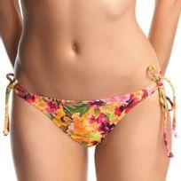 Freya - Bas de bikini féminin Copacabana avec liens de serrage