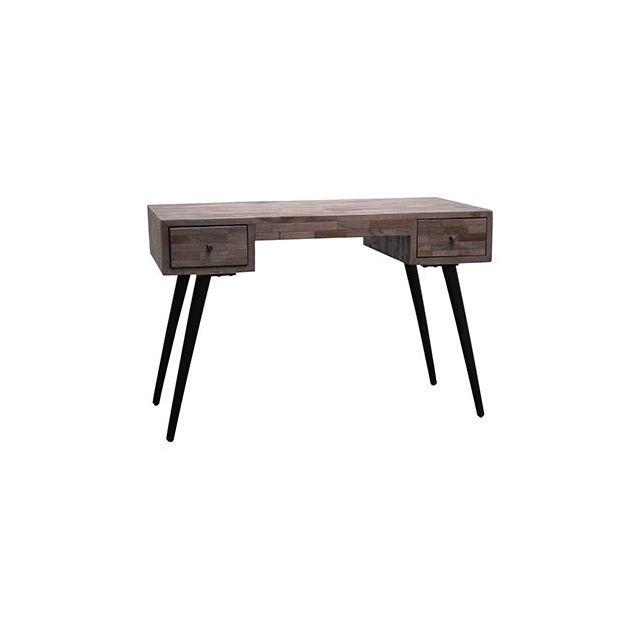Bureau Borco 113x56xH75cm en bois et métal