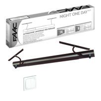 Faac - Kit Night One Day Blanc Automatisme volet battant