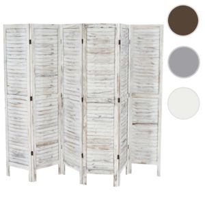 Latest mendler paravent sparation bois pans xxcm shabby for Paravent interieur pas cher