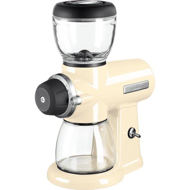Kitchenaid Broyeur à café avec 15 niveaux de finesse crème