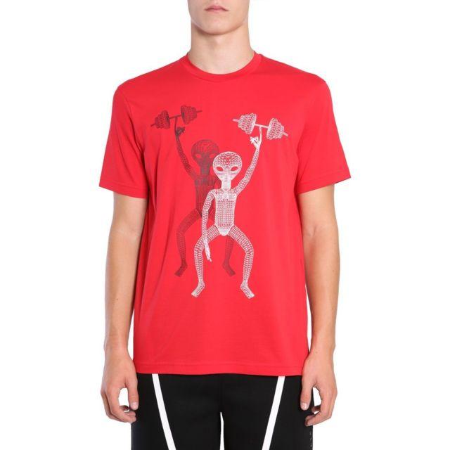 Barrett Blackbarrett By Neil Homme Pxjt1981AX1110 Rouge Coton T-shirt