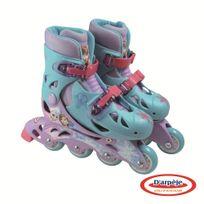 Disney - La Reine Des Neiges - Roller en ligne pour enfant - Pointures 30 à 33 - Ofro017