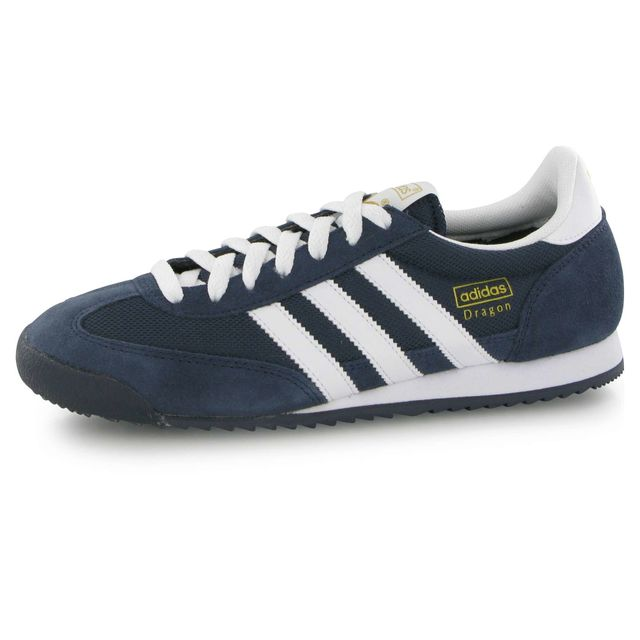 Adidas originals Dragon bleu, baskets mode homme 44 23