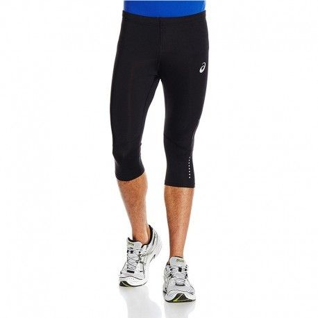 Asics Pantacourt Legging Noir Kneetight Running Homme S