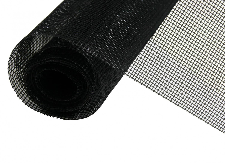 Rouleau Moustiquaire Fibre de Verre - Au mètre - Noir L100 cm