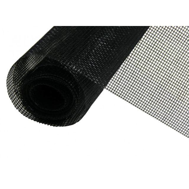 empasa rouleau moustiquaire fibre de verre au m tre noir l100 cm pas cher achat vente. Black Bedroom Furniture Sets. Home Design Ideas