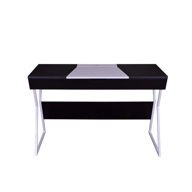 Calicosy Bureau noir et blanc design contemporain