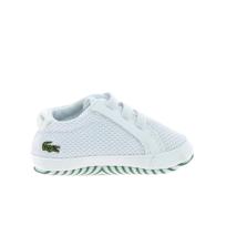 7729cd8ecc01f Lacoste - Crib 318 Bb Blanc Vert