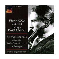 Istituto Discografico Italiano - Concertos pour violon nos 1 & 5 Lives 1960, 1961